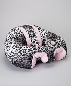 Another great find on #zulily! Hugaboo Snow Leopard & Pink Support Seat by Hugaboo #zulilyfinds