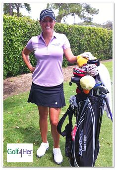 Love the Smashing Golf Erika skort Mallory is wearing - it's the only golf skort that slims and tones!     www.golf4her.com/Game-Day-Style-Outfit-5-s/3100.htm