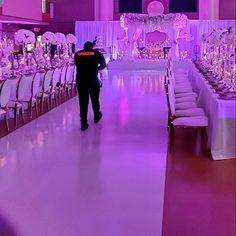 Dance Floor Wrap (Any Design) Quince Themes, Quince Decorations, Quinceanera Decorations, Quinceanera Party, Wedding Reception Decorations, Wedding Centerpieces, Quince Ideas, Purple Wedding, Wedding Colors