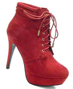 DESIGNER Plateau Stiefelette sexy Damen Schuhe Pumps - http://on-line-kaufen.de/schuh-city/designer-plateau-stiefelette-sexy-damen-schuhe