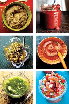 Mexican Salsa! ...If you counted all the salsas in Mexico, I assure you there would be thousands. Yet there's one thing most Mexicans would agree on: There's no meal without salsa....