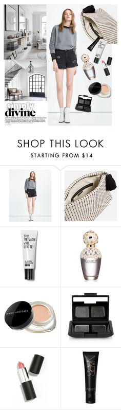 """Simply"" by olecika-777 ❤ liked on Polyvore featuring Zara, Marc Jacobs, NARS Cosmetics, Sigma Beauty, women's clothing, women, female, woman, misses and juniors"