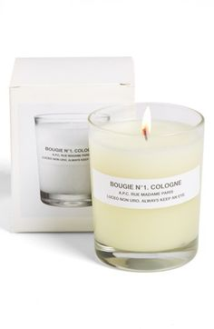 A.P.C. candle