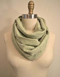 Anne of Green Gables Book Scarf in Moss Green by storiarts on Etsy, $42.00