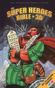 The NIrV Super Heroes Bible in 3D, Hardcover