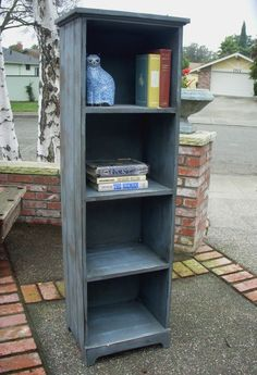 Rustic Book Shelf Shelves  Vintage Inspired by honeystreasures, $600.00