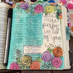 """Inspired by one of @bekahblankenship recent pages. """"For my thoughts are not your…"""