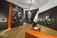 General View of Don McCullin Shaped by War Exhibition at IWM London 5th October