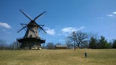 Fabyan Windmill y Parque en Geneva, IL.