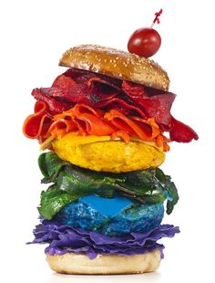 « Food of the Rainbow » by Henry Hargreaves