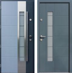 Drzwi wejściowe do domu z katalogu inox wzór 471,5-471,15
