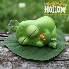 Introducing Thimblestump Hollow: Slumberguppy. Slumberguppy likes naps, couches, beds and naps. #ThimblestumpHollow