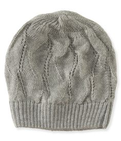 ef30682f22f94 Open-Knit Beanie - Aeropostale Guys And Girls