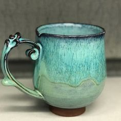 Browse unique items from KaiCeramics on Etsy, a global marketplace of handmade, vintage and creative goods. Pottery Mugs, Ceramic Pottery, Thrown Pottery, Slab Pottery, Pottery Designs, Mug Designs, Ceramic Cups, Ceramic Art, Ceramic Birds