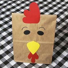 Rooster Treat Sacks - Farm Chicken Barnyard Country Theme Birthday Party Favor…