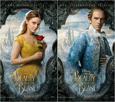 Emma Watson And Dan Stevens In Beauty The Beast