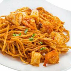 Pasta Al Pesto, Pasta Tomate, Seafood Recipes, Pasta Recipes, Cooking Recipes, Italian Recipes, Mexican Food Recipes, Ethnic Recipes, Quinoa