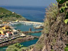 Castelsardo harvor from the town wall - Sardinia