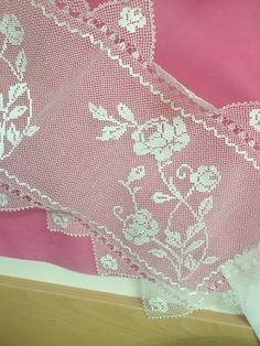 Kurtköy İsmek Needle Lace, Needle And Thread, Seville, Knots, Amigurumi, Straws, Lilac, Lace, Chrochet