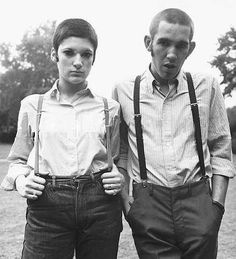 1960s skinheads - Are ya sure ya uncle Albert is alright with us borrowing his pants?