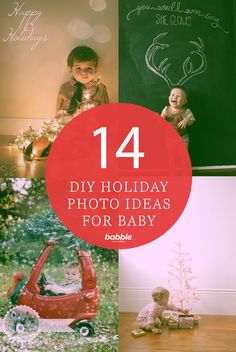 The holidays provide countless cute photo ops with your kids. It can be tempting to take the little ones to the local photographer to capture them in their holiday glory. But this year, skip the studio and capture the memories yourself with these adorable DIY holiday photo shoot ideas.