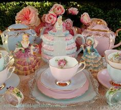 What a lovely tea party!