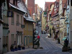 Rothenburg ob der Tauber, Baviera, Alemania