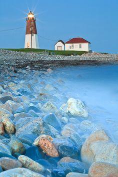 Point Judith Lighthouse, Rhode Island