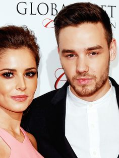 """getliam: """"  Liam and Cheryl at the Red Carpet at the Global Gift Gala - 5/9 """""""