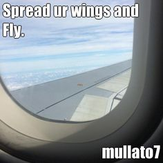 Spread ur wings and Fly. mullato7 (courtesy of @Pinstamatic http://pinstamatic.com)