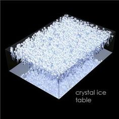 Swarovski Crystal Ice furniture