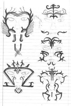 Dalish Tattoos