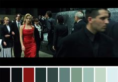 50 Iconic Films and Their Color Palettes Movie Color Palette, Colour Pallette, Color Combos, Color Schemes, Color Tones, Cinema Colours, Color In Film, Matrix Color, Fashion Editorials