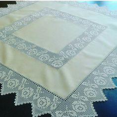 Crochet Borders, Crochet Tablecloth, Quilts, Blanket, Madonna, Lace, Humor, Bath Linens, Diy And Crafts