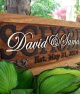The best wedding gift /Anniversary gift/ Personalized Carved Plaque Truly a gift to last a lifetime