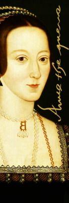 An Anne Boleyn bookmark.