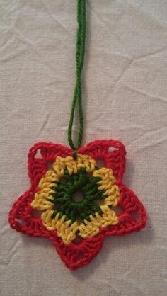 #crochet #handmade #stars #christmas #zvjezdice  10 kn/kom