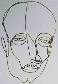 alexander calder wire sculptures the old and wise man