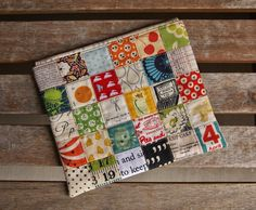 Patchwork Pouch at Fabric Mutt from Tutorial by Quarter Inch Mark