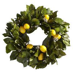 Lemon Salal Wreath | Williams-Sonoma