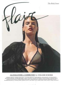 Gucci Cover - Flair Italy, May 2014