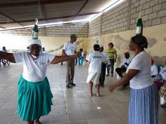 Let's dance the Bomba! Ecuador's African-inspired dance requires 3 things: a little rhythm, a bottle to balance on your head, and BRAVERY. http://www.allaroundthisworld.com/learn/latin-america/