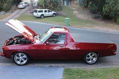 HJ ute with Australian Ute, Australian Muscle Cars, Aussie Muscle Cars, Custom Trucks, Custom Cars, Classic Trucks, Classic Cars, Holden Muscle Cars, Holden Kingswood