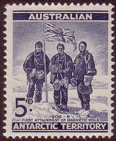 Australian Antarctic Territory 1961 SG 6 Magnetic Pole Fine Mint SG 6 Scott L6 Other Australian Antarctic territory