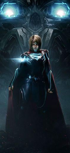 Kara Zoe-El: The Supergirl from Injustice 2 Héros Dc Comics, Heros Comics, Dc Comics Characters, Comics Girls, Dc Heroes, Injustice 2 Characters, Injustice 2 Supergirl, Injustice Game, Supergirl Comic