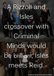 Rizzoli & Isles meets Criminal Minds