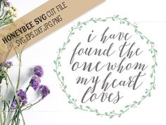 I Have Found The One svg eps dxf jpg png cut file for Silhouette and Cricut Explore type craft machines by HoneybeeSVG on Etsy