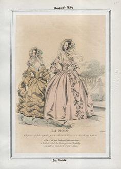 La Mode August 1839 LAPL