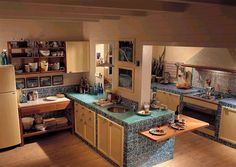 cucina muratura moderna - Cerca con Google | Cucina estensione ...