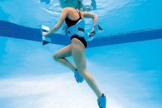 water running (jogging), great when you are injured and want to continue training but can't have impact movement on road.    Also another great article here:  http://www.livestrong.com/article/127731-deep-water-running-workouts/